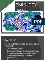 Epidemiology Mod 4
