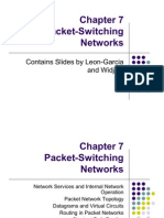 7. Packet Switching Networks