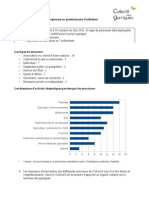 Doc Synthese Questionnaire janvier 2012