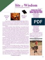 January Tid Bits of Wisdom 2012 Press 2