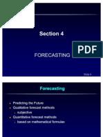 Unit2Sec4 Forecasting