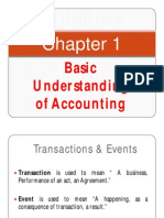 Afm Chapter 1 Basic Concepts of Accounting