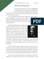 Historia de La Espeleologia