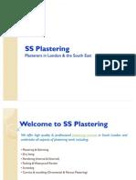 SS Plastering
