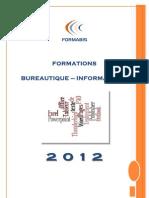 Catalogue 2012 Bureautique-Informatique