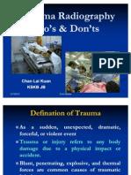 Trauma Radiography Puteri Resort Melaka 2010