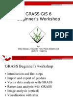 Grass Beginners Workshop