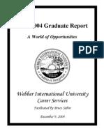 2004 Employment Report