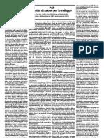 PAS - Causa Della Fondazione e Ideologia