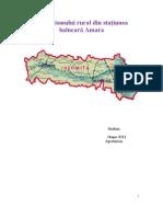Analiza Turismului Rural Din Statiunea Balneara Amara