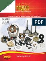 Catalogo de peças de moto de arranque