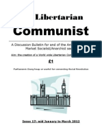 The Libertarian Communist No.17 - Mid Jan-March 2012