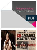 Philippine History Martial Law