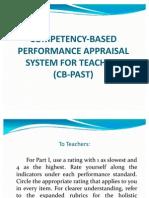 CB PAST Presentation