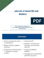 UT1 Introduccion Al Desarrolllo Web Dinamico