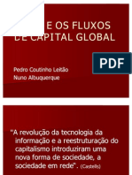 AS TIC's E OS FLUXOS DE CAPITAL GLOBAL