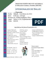 Promoción Profesionales Salud  - 4 febrero 2101