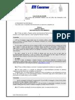 Lei 8112 - 90 Comentada Para Concursos Federais Com 100 Ex Com Gabarito e Atualizada