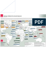 SIPRI Map of Multilateral Peace Operation Deployments 2011