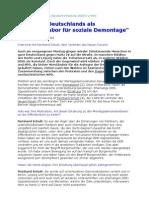 2004 Reinhard Schult - Interview zum Protest gegen Sozialabbau