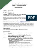 SA Journal of Human Resources-QUAL