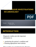 Non Invasive Investigations in Cardiology