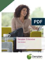Denplan Extensive Handbook 11-10