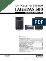 Yamaha- Stagepas 500