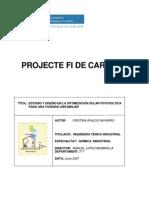Estudio y diseño en la optimización de energía solar fotovoltaica para una vivienda unifinaliar