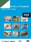 Energy Efficiency in Hospitals- Best Practice Guide