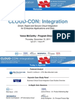 CLOUD CON Integration Case Study Keynote Panel Slide