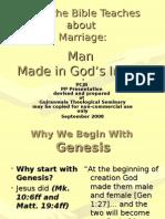 What Genesis Teaches - 1.2 Man 38Fr