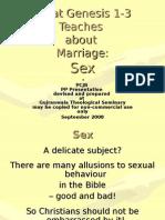 What Genesis Teaches - 1.4 Sex 55Fr