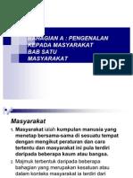 Bab 1 & 2 Masyarakat Dan Budaya (Dip)