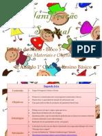 planificação estudo do meio - 1º ano - unidade temática à descoberta dos materiais e objetos