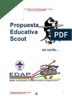 Propuesta Educativa Scout en Corto