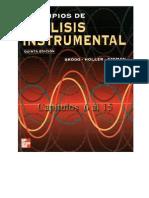 Principios de análisis instrumental. Skoog, Douglas (5ª ed) Capítulo 6-15
