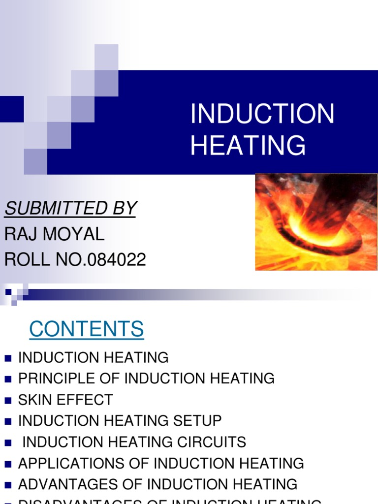 Induction Heating Ppt Electromagnetic Inductor Furnace Circuit
