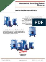 Compresor Danfoss Maneurop Para Refrigeracion