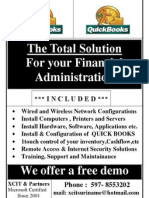 Quickbook The Total Solution For your Financial Administration
