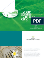 Brochure Diplomatic Greens