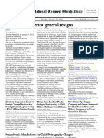 January 17, 2012 - The Federal Crimes Watch Daily