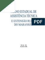 PROPOSTA ESTADUAL PLANO ESTADUAL DE ASSISTENCIA TÉCNICA E EXTENÇÃO RURAL