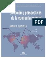 Sumario Ejecutivo Situación y perspectivas de la economía mundial 2012