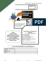 Clase 02 Excel Formulas y Funciones
