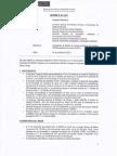 Informe sobre Estudio de Impacto Ambiental del Proyecto Minas Conga
