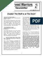 Awake Wolf Door