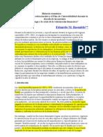 Basualdo, Reformas Estructurales y El Plan de Convertibilidad Durante La Dcada de Los Noventa