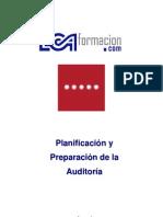 Unidad 11.- Planificación y Preparación de la Auditoría
