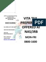 Tax Flyer1